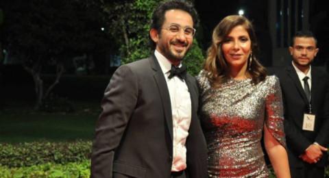 أحمد حلمي ومنى زكي يؤديان العمرة