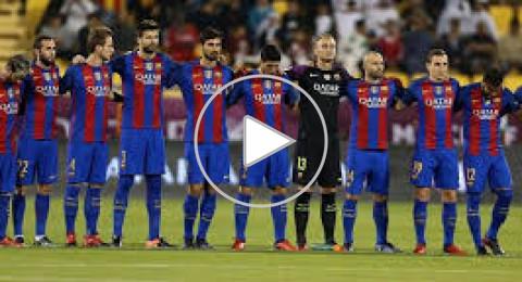 فوز اخر لبرشلونة بمساعدة الحكم