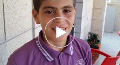 شفاعمرو:جود حداد (12 عاما) ينقذ حياة طفل رضيع وهو في سيارة والدته