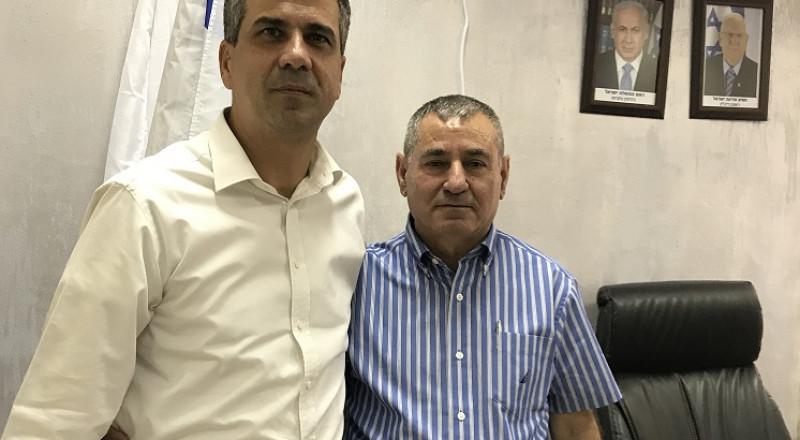 تعيين رياض ابراهيم، مدير لواء الشمال في وزارة الاقتصاد