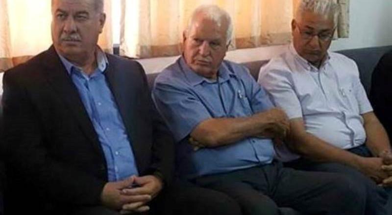 لجنة الوفاق في ضيافة ابو مازن