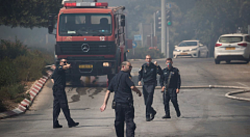 نشوب حريق في منزل بالحي الشرقي لمدينة الناصرة