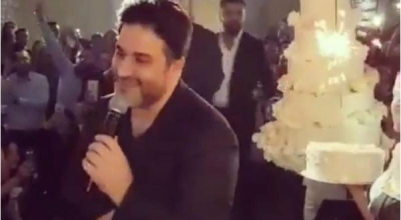 مفاجأة مميزة لـ ملحم زين في عيد ميلاده بالسويد