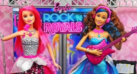 باربي الاميرات والنجمات مدبلج Barbie in Rockn Royals