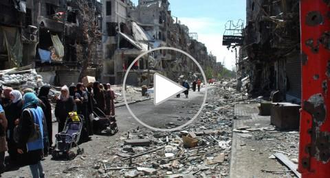 تواصل البحث عن حل سياسي لمخيم اليرموك