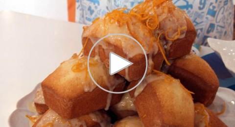 كيكة البرتقال مع صلصة البرتقال من مطبخ منال العالم