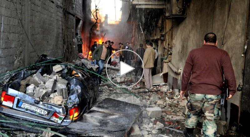 فيديو:كشف سلسلة انفاق بين مخيم اليرموك والمناطق المجاورة