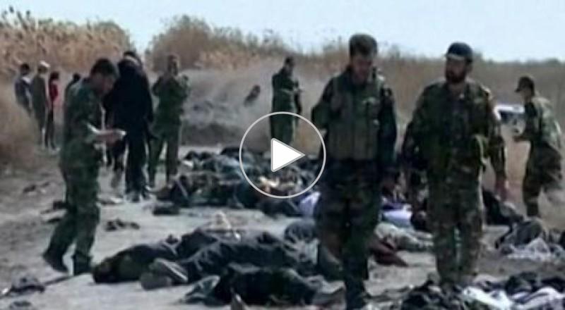 حزب الله يبث صورا لكمين قتل فيه الجيش السوري 175 معارضا مسلحا
