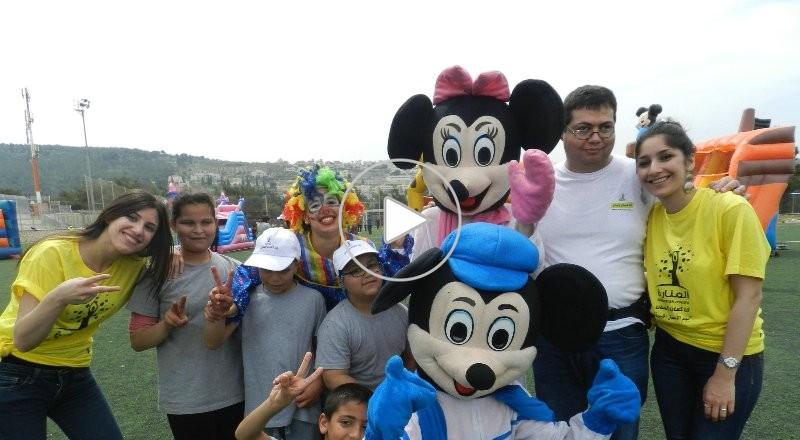 جمعية المنارة تقيم يوم رياضي مميز في ملعب عيلوط
