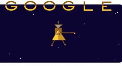 جوجل يحتفل بنجاح مرور المركبة كاسينى بين كوكب زحل وحلقاته