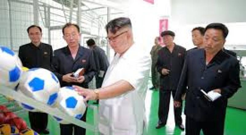 من هو لاعب كرة قدم المصري الذي يتابعه دكتاتور كوريا