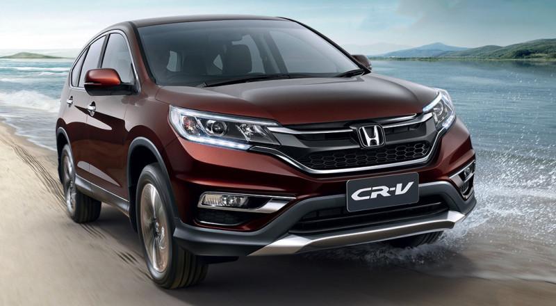الكشف عن موديل هجين لـ Honda CR-V في شنغهاي