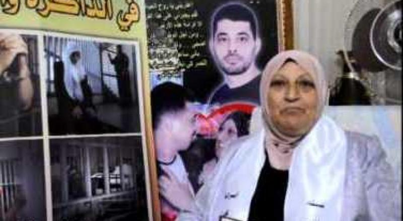 الحاجة نادية الزعبي والدة الأسير حاتم الجيوسي في رسالة خاصة للأسرى