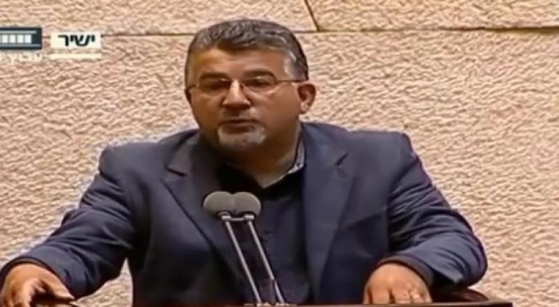 النائب جبارين يطرح بالكنيست قضية مقتل الطفلين بالنقب ويطالب باقامة لجنة تحقيق