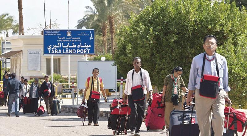 طريق الإسرائيليين إلى سيناء مفتوح من جديد