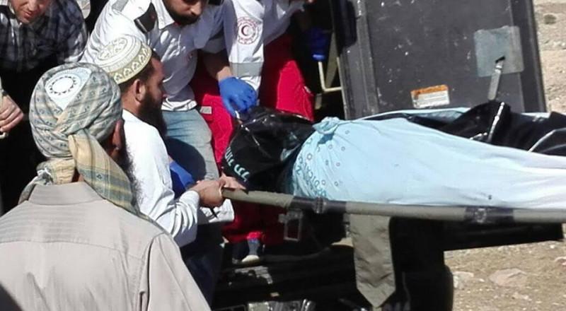 القدس : تسليم جثمان الشهيد صهيب مشاهرة
