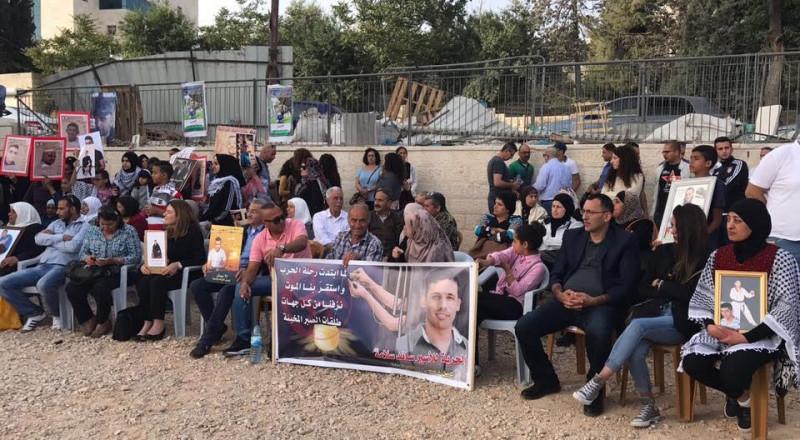 الصليب الأحمر: معنويات الأسرى المضربين عن الطعام عالية