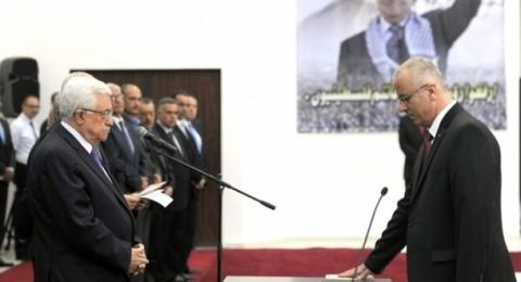 الرئيس الفلسطيني يقبل استقاله الحمد لله