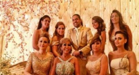 ديما بياعة أميرة في زفاف شقيقتها
