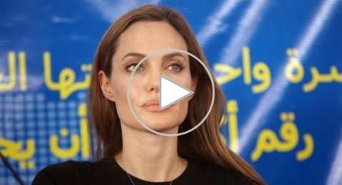 جولي تناشد زعماء العالم مساعدة السوريين