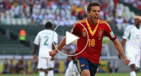 إسبانيا تواجه ايطاليا في نصف النهائي بفوزها على نيجيريا