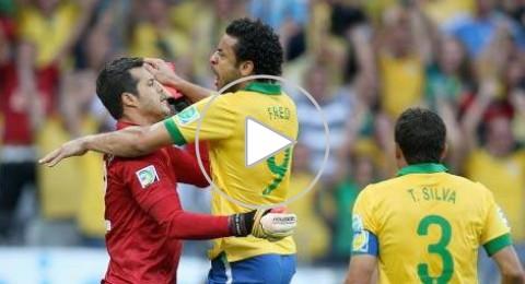 البرازيل تجتاز عقبة الأرغواي بصعوبة بالغة