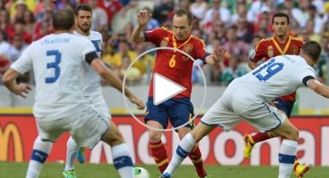 بركلات الترجيح .. منتخب اسبانيا إلى نهائي كأس القارات