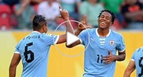 ثمانية اهداف للاورغواي في شباك تهايتي قبل لقاء البرازيل