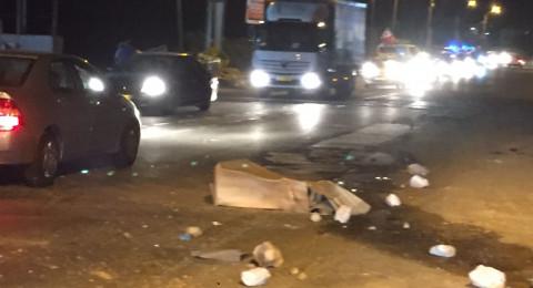 بعد اشعال اطارات مطاطية في كفر كنا: اعتقال 3 شباب