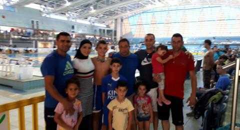 انجاز اخر لمدرسة السباحة – سخنين في نهائيات بطولة اسرائيل