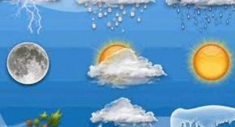 انخفاض على درجات الحرارة العظمى