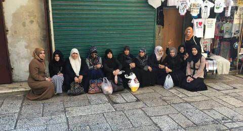 الشرطة تمنع نساء من عائلة جبارين من الدخول للمسجد الاقصى