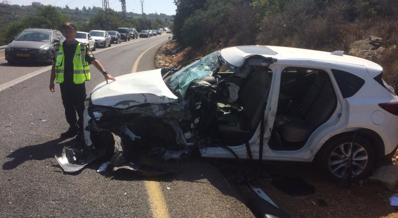 إصابة خطيرة لرجل من يركا بحادث مروّع بالجليل الأعلى