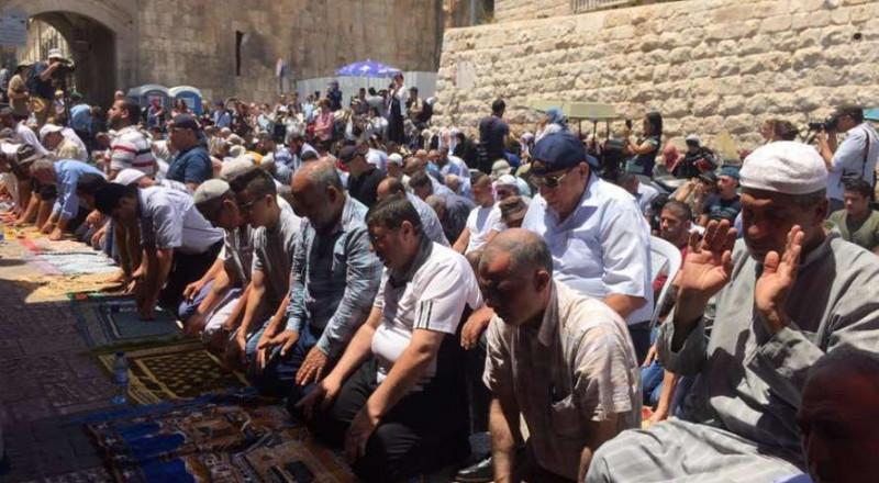 اعتقال شيخ في القدس بشبهة الدعاء على عناصر الشرطة الإسرائيلية!