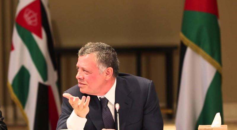 العاهل الأردني يشن هجومًا لاذعًا على نتنياهو