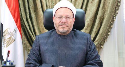 مفتى الجمهورية يدين اقتحام مئات المستوطنين الإسرائيليين المسجد الأقصى