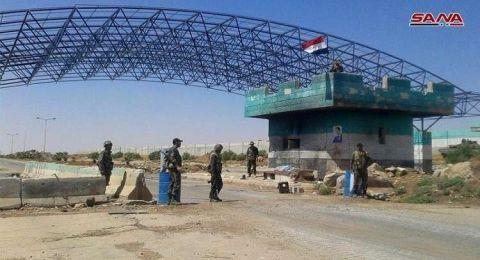 دمشق تفتح معبر نصيب الحدودي مع الأردن