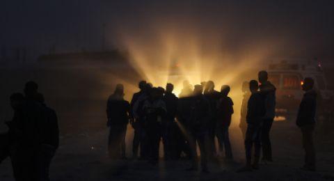 اطلاق نار على قوة عسكرية ليلة امس بالقرب من رام الله
