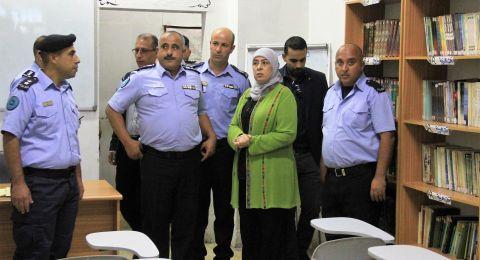 د.غنام ووكيل نيابة رام الله ومدير الشرطة يتفقدون مركز تأهيل وإصلاح رام الله