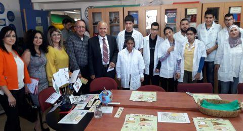 زيارة المدير العام للوزارة شموئيل ابواب لجهاز التّعليم في شرقي اورشليم القدس