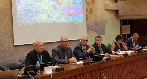 وفد لجنة المتابعة يعقد ندوة في مجلس حقوق الانسان حول قانون القومية