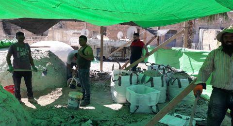 عكا: بدء العمل في مشروع ترميم أسطح جامع الجزار