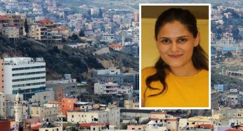 صوفيا جبارين... (22 عامًا) أصغر مرشّحة في امّ الفحم: امنحونا الفرصة