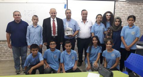 المدير العام لوزارة التّعليم شموئيل ابواب يزور مدارس الوسط العربي