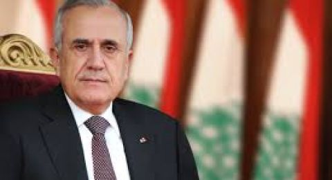 الرئيس اللبناني السابق يغرد لـ