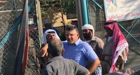 النائب جبارين: من يهدم خان الأحمر سيجد نفسه في المحكمة الدولية لارتكابه جريمة حرب