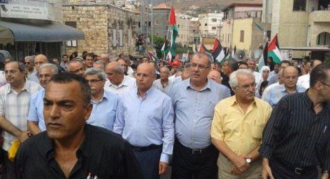 المتابعة تضع الترتيبات الأولى للإضراب العام واحياء ذكرى هبة القدس والأقصى
