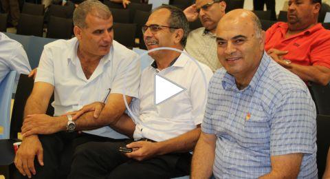عرابة: مرشحو رئاسة البلدية يوقعون على ميثاق الشرف