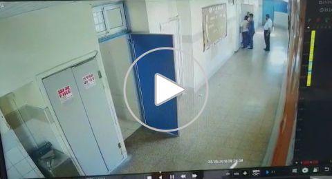 ابو الطور: المعلم أصيب بصورة بالغة، فيديو يوثق الحادث واضراب