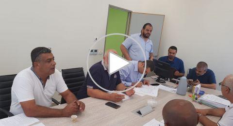 ام الفحم: تقديم القوائم لمأمور الانتخابات وإنسحاب المرشّح يوسف اسعد